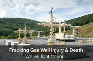 Fracking Gas well injury and death